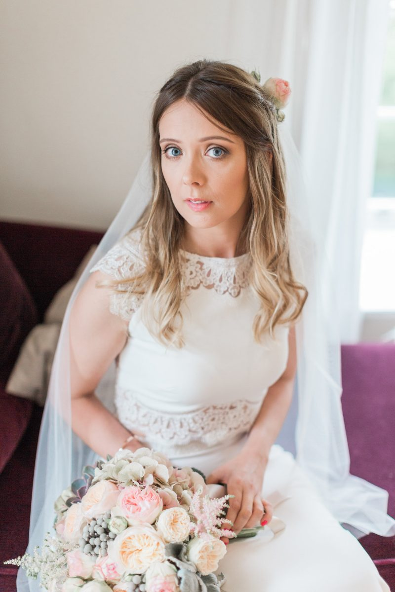 Brinkburn Wedding makeup