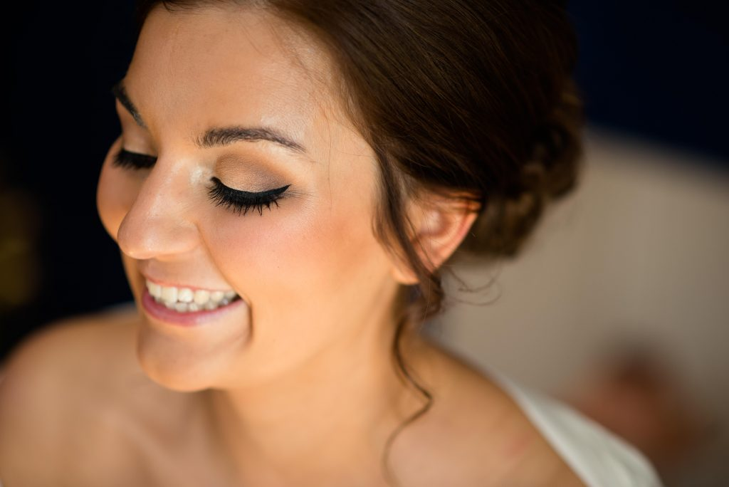 woohill hall wedding makeup
